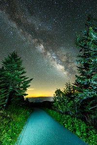 Follow the Milky Way