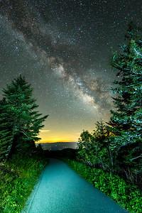 Follow the Milky Way
