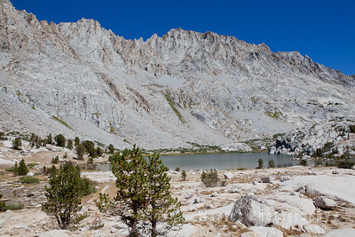 Peaks Surrounding Evolution Lake