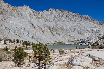 Peaks Surrounding Evolution Lake