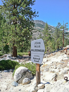 Leaving John Muir Wilderness, Onward to Kings Canyon National Park