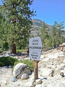 Leaving John Muir Wilderness, Onward to Kings Canyon National Park