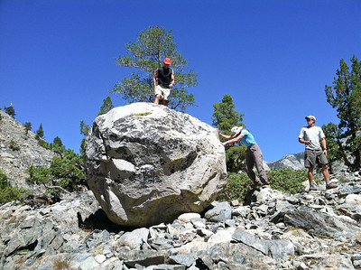 Checking Out Muir Rock, Glacial Erratic