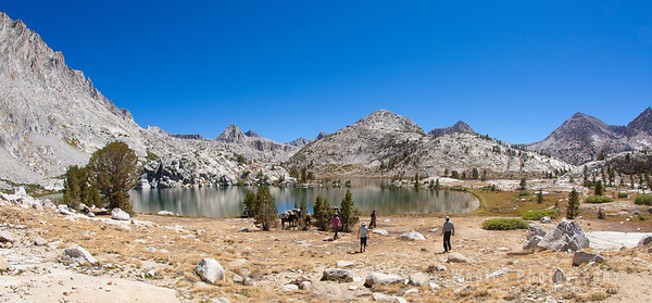 Panorama View of Campsite