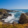 California sea cliffs.