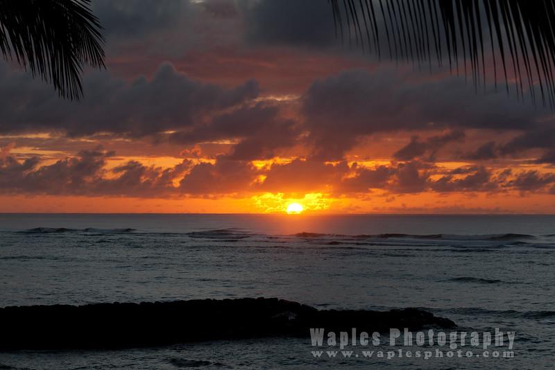 Sunrise from my lanai