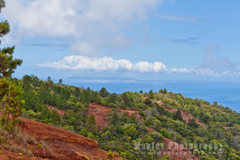 View of Ni'ihau, 17 miles Away