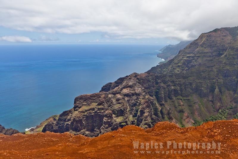 Endless View of Na Pali Coastline