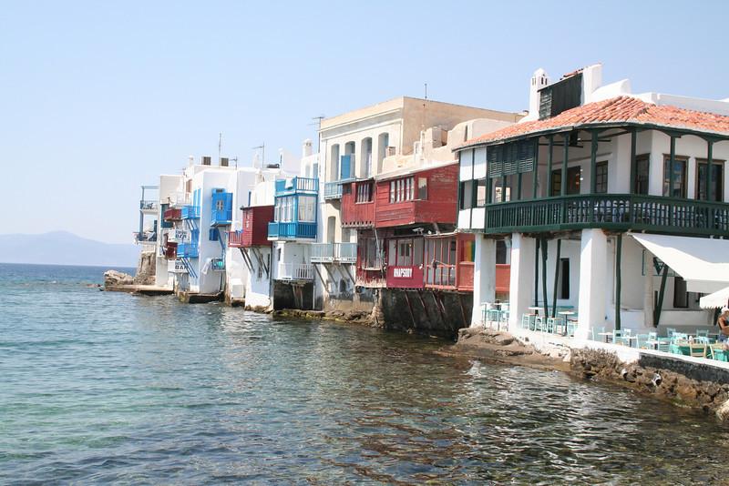 Little Venice, Mykonos Port, Cyclades, Greece, Cyclades, Greece
