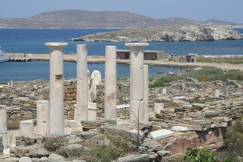 On Delos Island, Cyclades, Greece