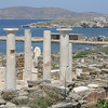 On Delos Island, Cyclades, Greece
