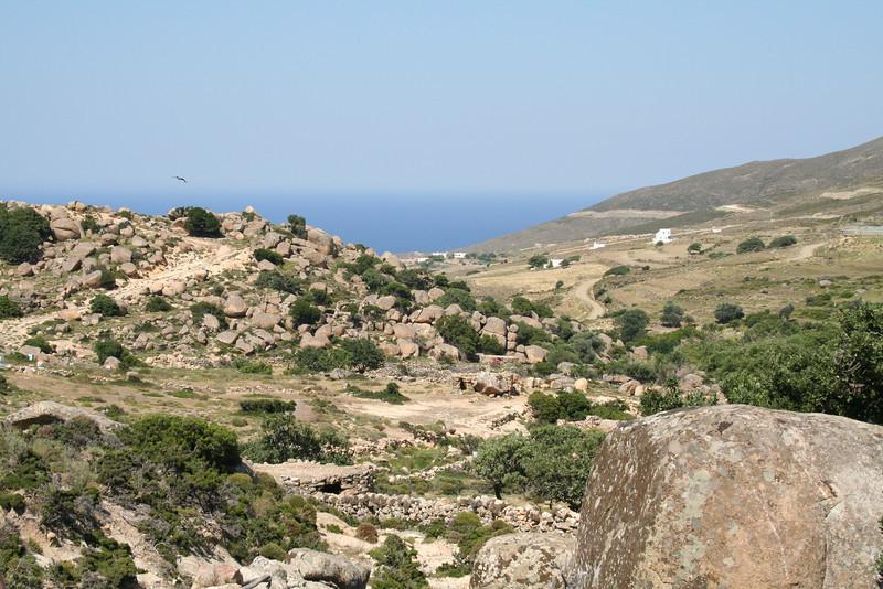 Hiking Across Tinos