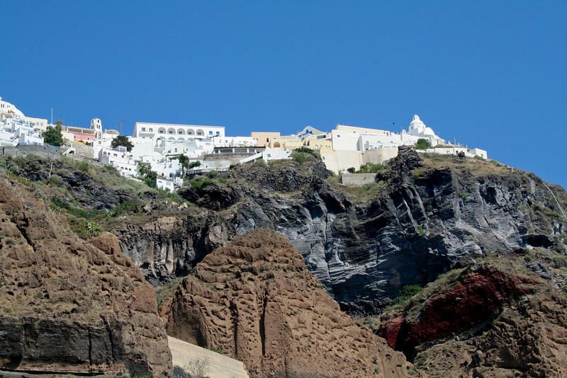 Views of Oia, Santorini