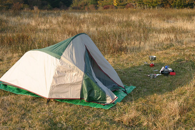 The box said this was a 2 man tent.  It was barely big enough for me, but it served its purpose.  I think I'll keep it.