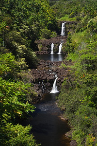 Umauma Falls, Hawaii