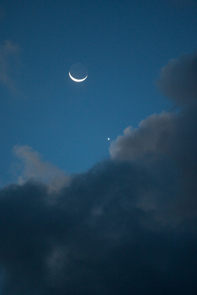Moon with Venus (Feb '09).
