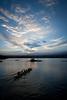 """Journey""  (sunset paddlers, Hilo Bay 12/04/12)"