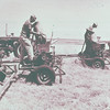 Historical farming equipment