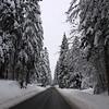 Route du plateau de Retord - Ain - France