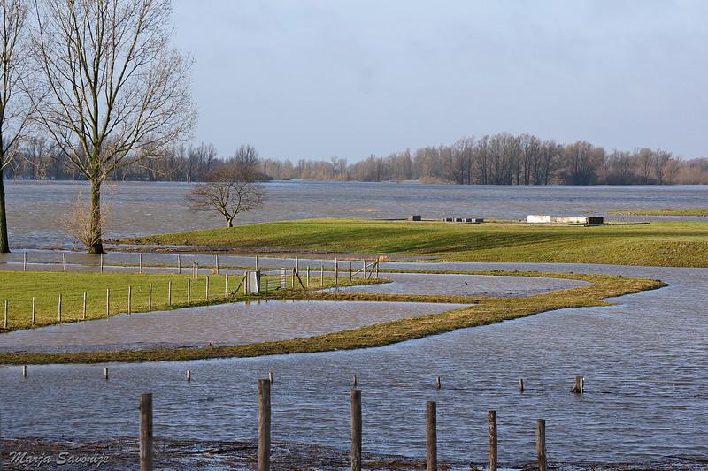 Munnikenland onder water