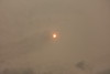 Sahara dust and smoke from fires in Spain and Portugal