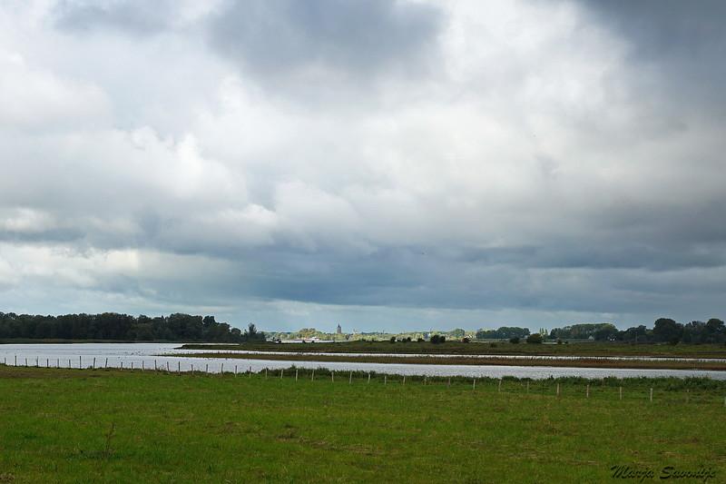 Uitzicht richting Gorinchem