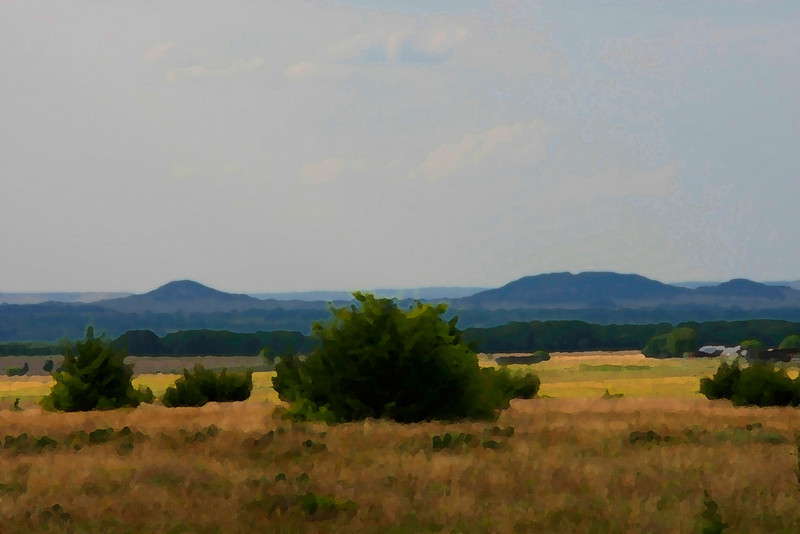 Bosque County landscape.