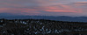 2009 Dec 16 sunset.  Truchas center, Santa Fe Baldy at right