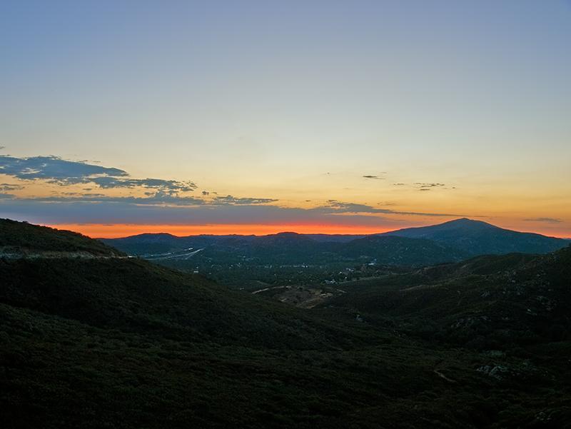 Pine Valley Sunset