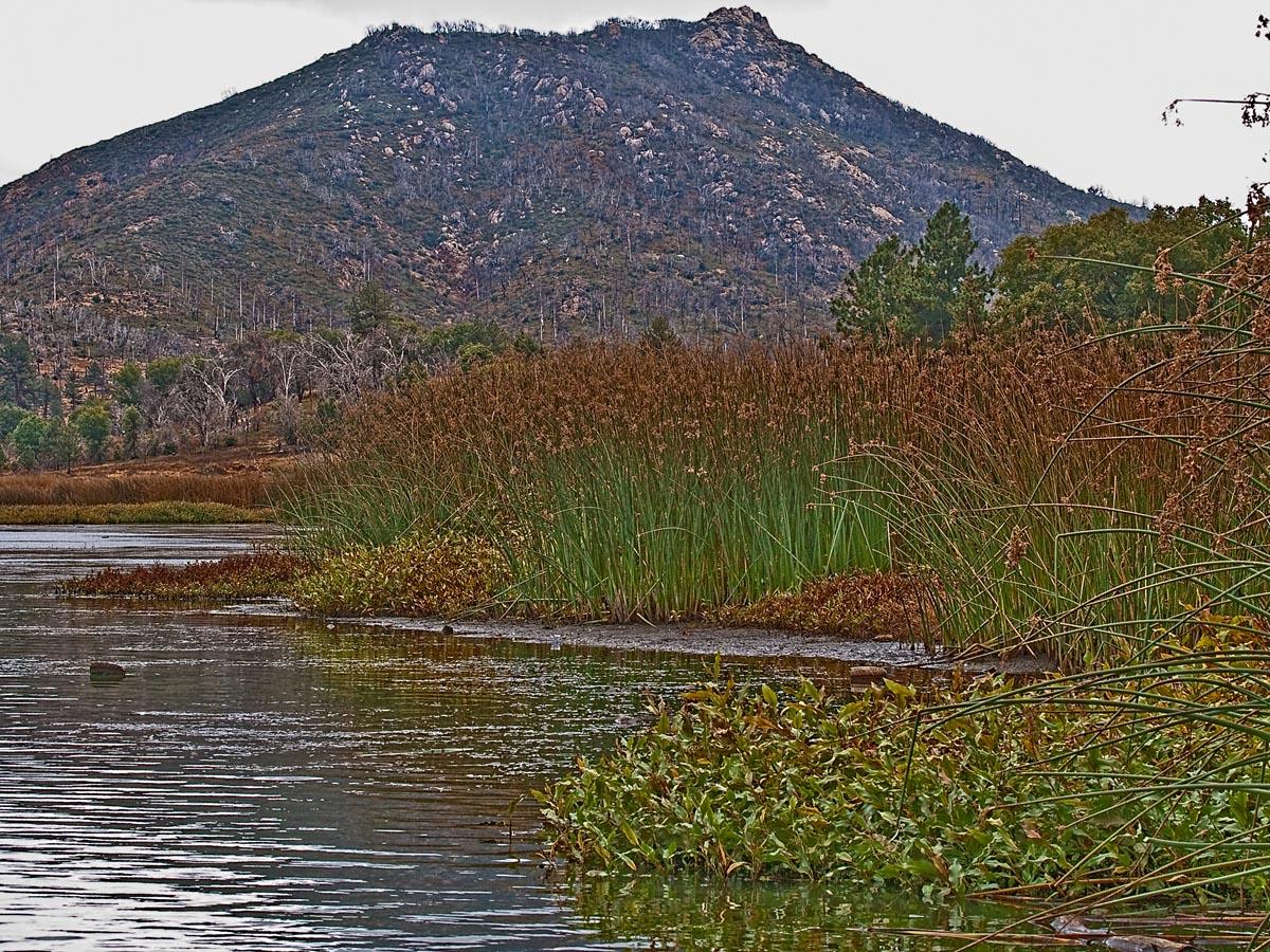 Stonewall Peak and Lake Cuyamaca