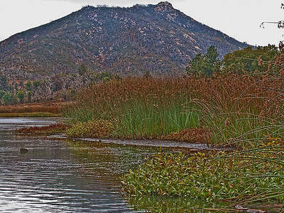 Stonewall Peak and Lake Cuyamaca