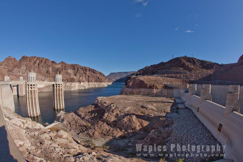Exposed Canyon and Arizona Spillway