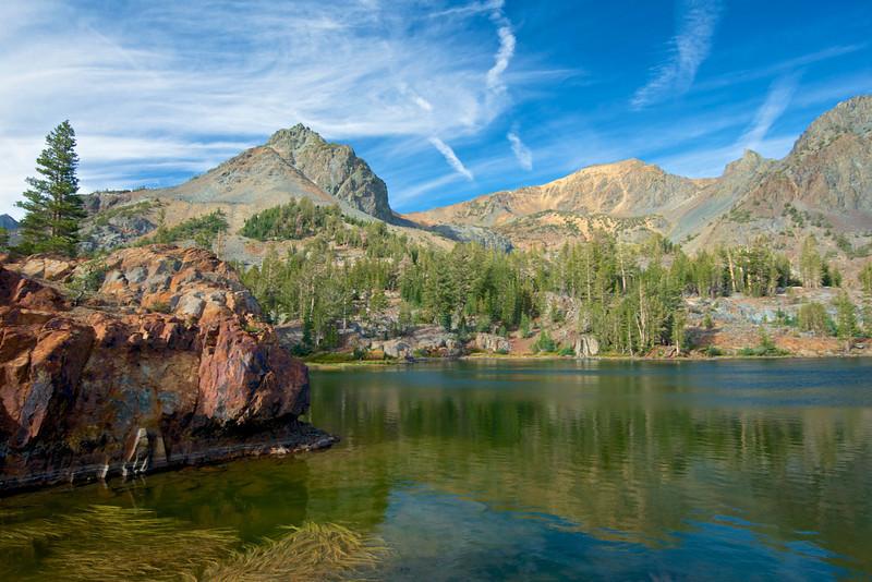 Nutter Lake, Epidote Peak, Hoover Wilderness
