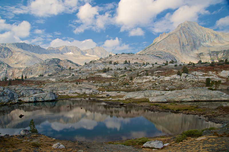 Mt. Conness, North Peak, 20 Lakes Basin, Hoover Wilderness