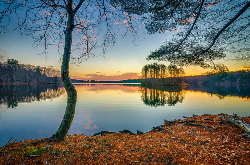 Sunrise Reflections 2 - Hopkinton State Park - Tom Sloan