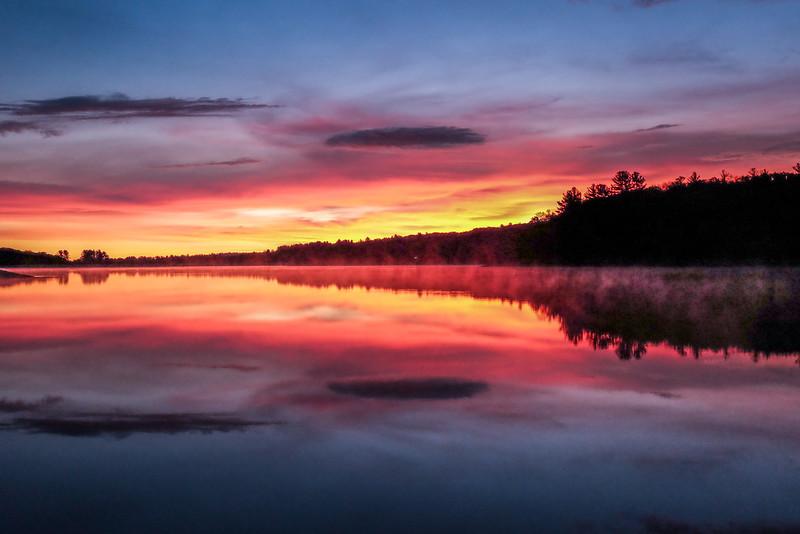 Sunrise Dreams - Hopkinton State Park - Tom Sloan
