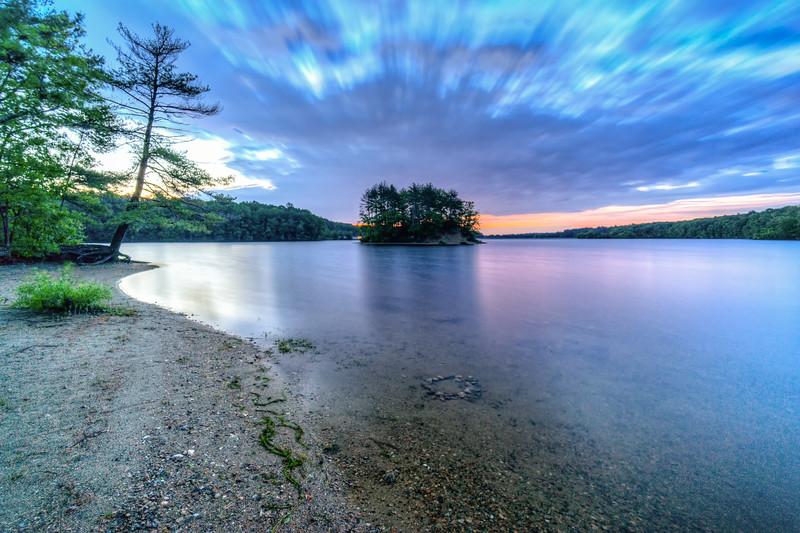 Sunrise Long Exposure - Hopkinton State Park - Tom Sloan