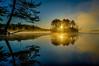 dawn comes - Hopkinton State Park