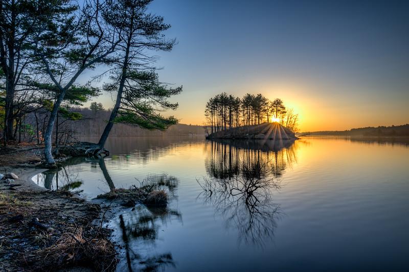 Clear Spring Sunrise - Hopkinton State Park