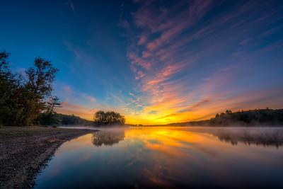 Rise and Shine Sunrise - Hopkinton State Park - Tom Sloan