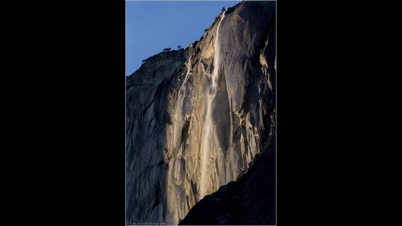 Horsetail Falls 2/24/16  1 sec interval
