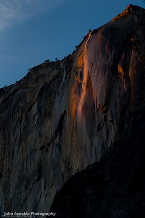 Day One Horsetail Falls Yosemite 2016
