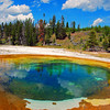 Hot Springs, Yellowstone National Park