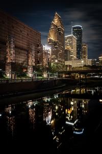 Houston Nights on Bayou Trail 3