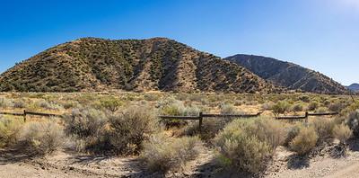 Fenced California State Grasslands