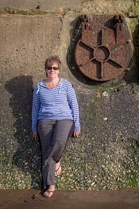 Diane by Hunstanton Sea Wall