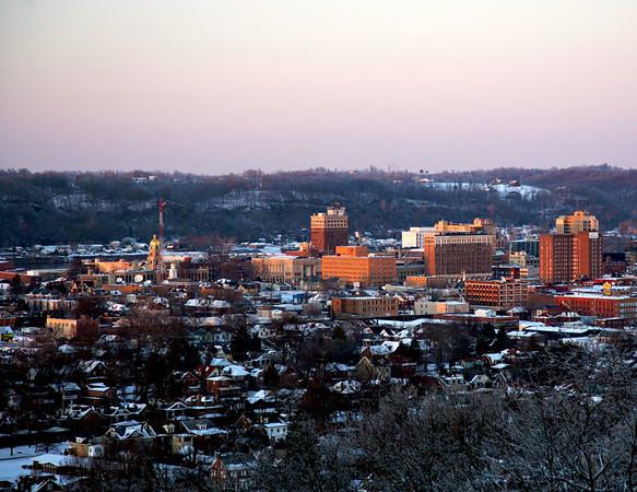 Huntington in the Snow