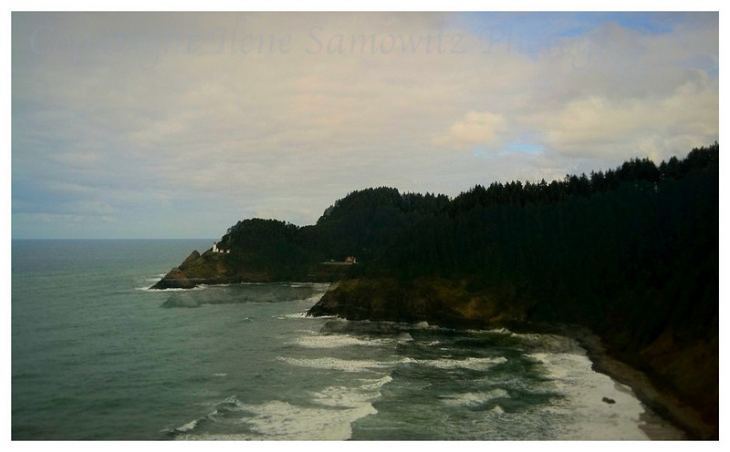Hecate Head Lighthouse, Oregon Coast<br /> Image taken with Iphone 4.  I mistakenly thought it was my Nikon D7000