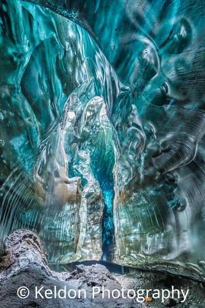 Treasure Island Ice Cave, Iceland