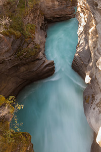 Canyon at Athabasca Falls, Jasper